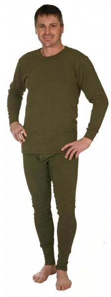 Plüsch Unterhemd - langarm