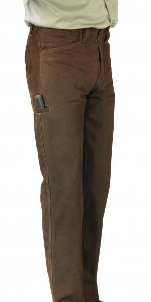 Rindsleder Jeans für Jäger