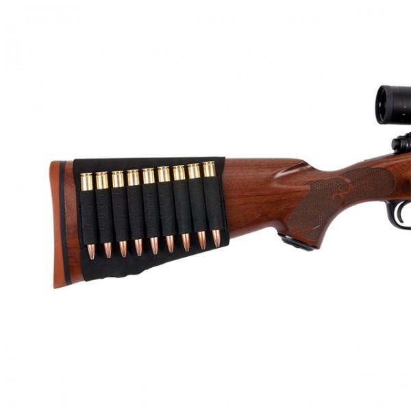 Kugelpatronenetui für Gewehrschaft
